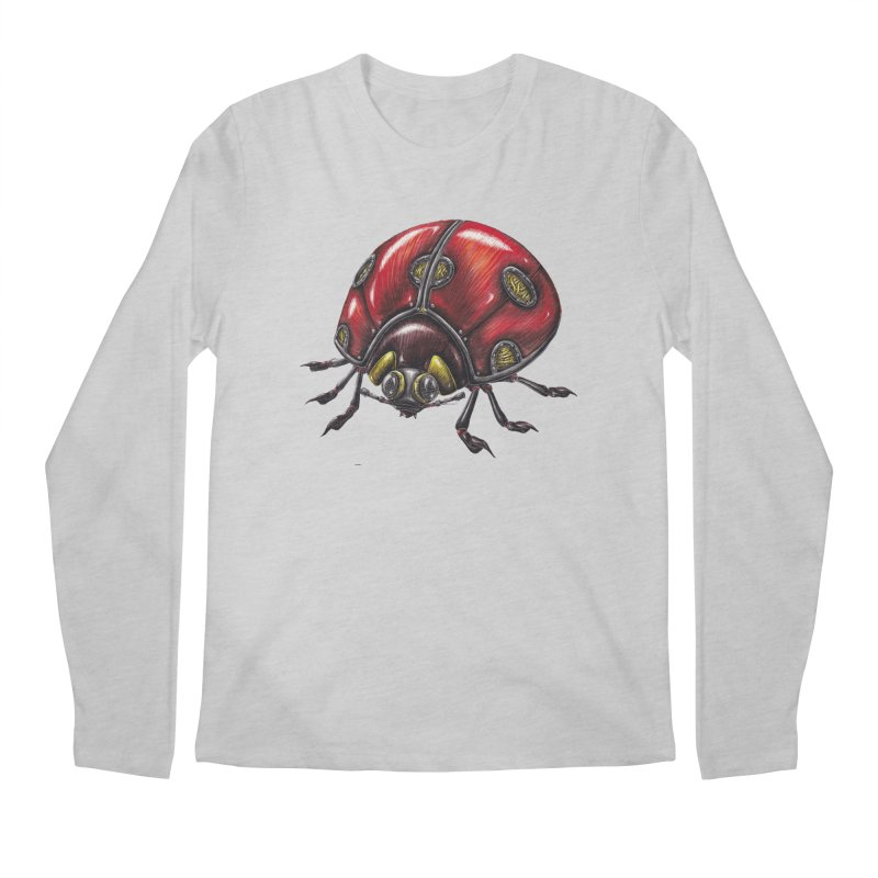 Ladybug Men's Regular Longsleeve T-Shirt by Natalie McKean