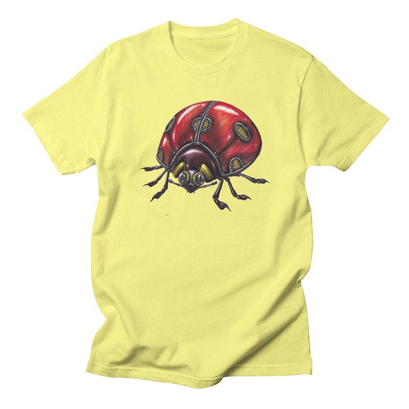 Ladybug Women's Regular Unisex T-Shirt by Natalie McKean