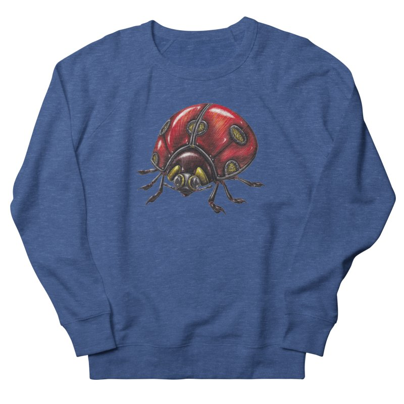 Ladybug Women's French Terry Sweatshirt by Natalie McKean