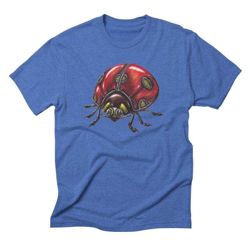 Ladybug Men's T-Shirt by Natalie McKean
