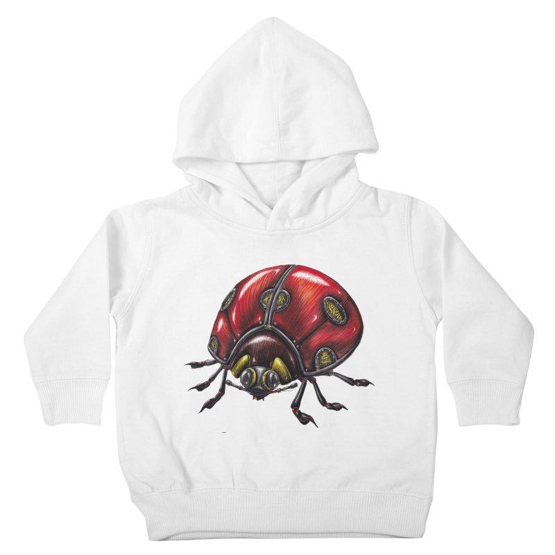 Ladybug Kids Toddler Pullover Hoody by Natalie McKean