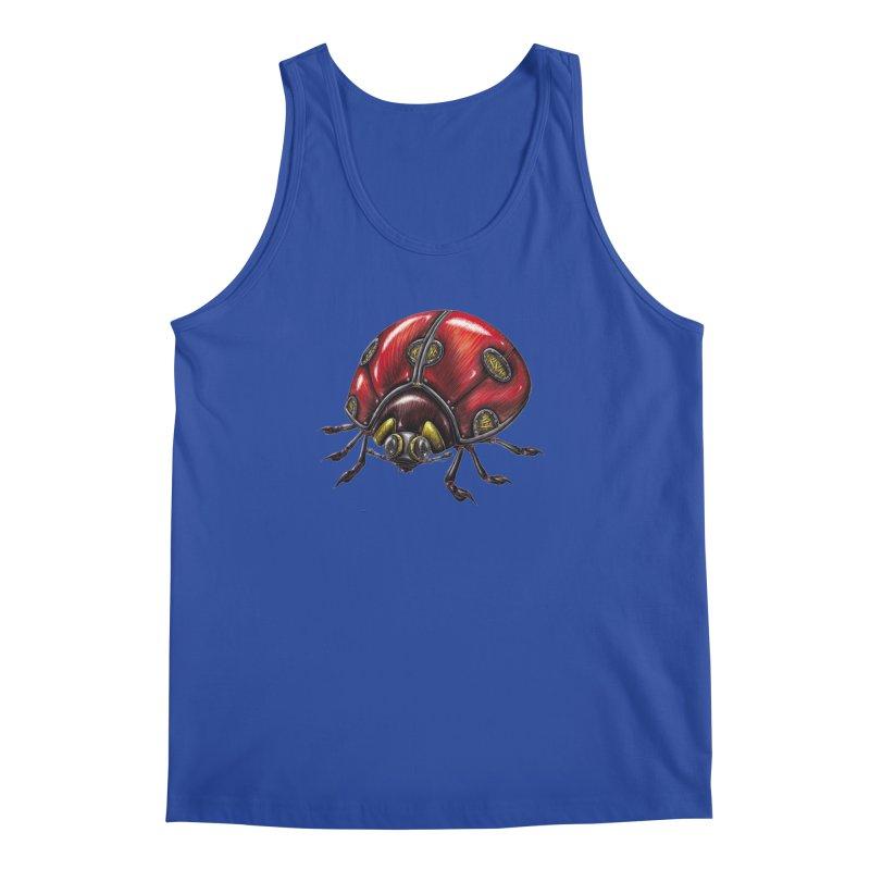 Ladybug Men's Regular Tank by Natalie McKean