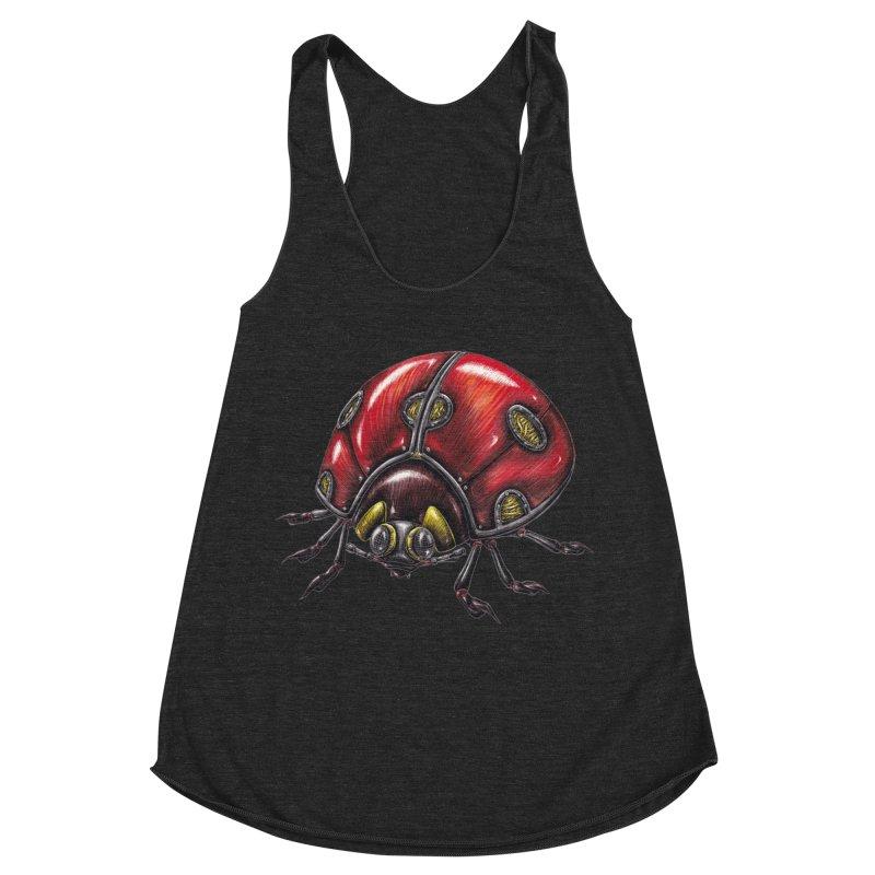 Ladybug Women's Tank by Natalie McKean