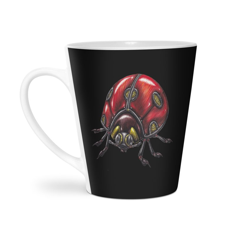 Ladybug Accessories Latte Mug by Natalie McKean