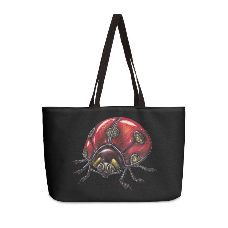 Ladybug Accessories Weekender Bag Bag by Natalie McKean