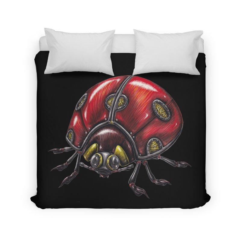 Ladybug Home Duvet by Natalie McKean