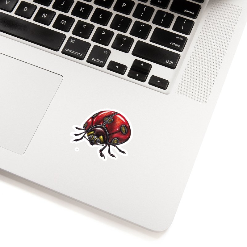 Ladybug Accessories Sticker by Natalie McKean