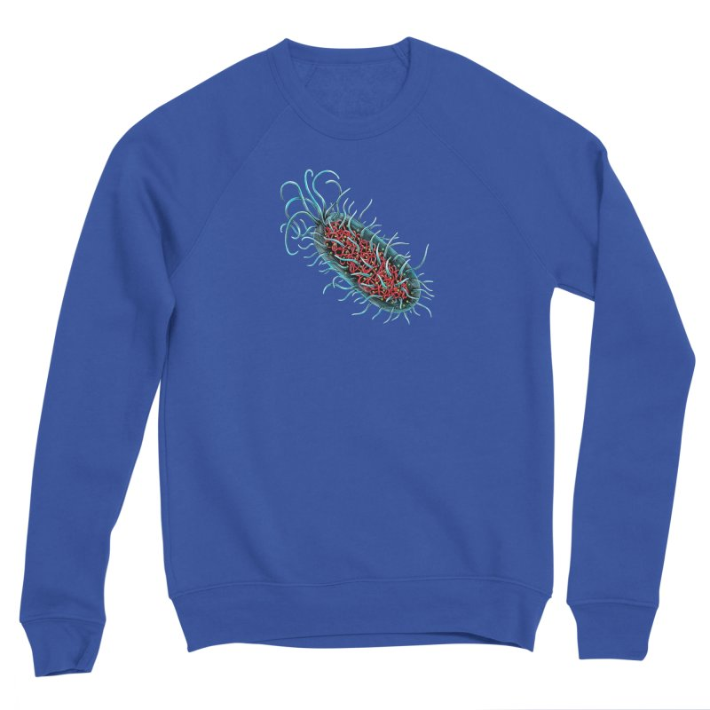 Bacteria Cell Men's Sweatshirt by Natalie McKean