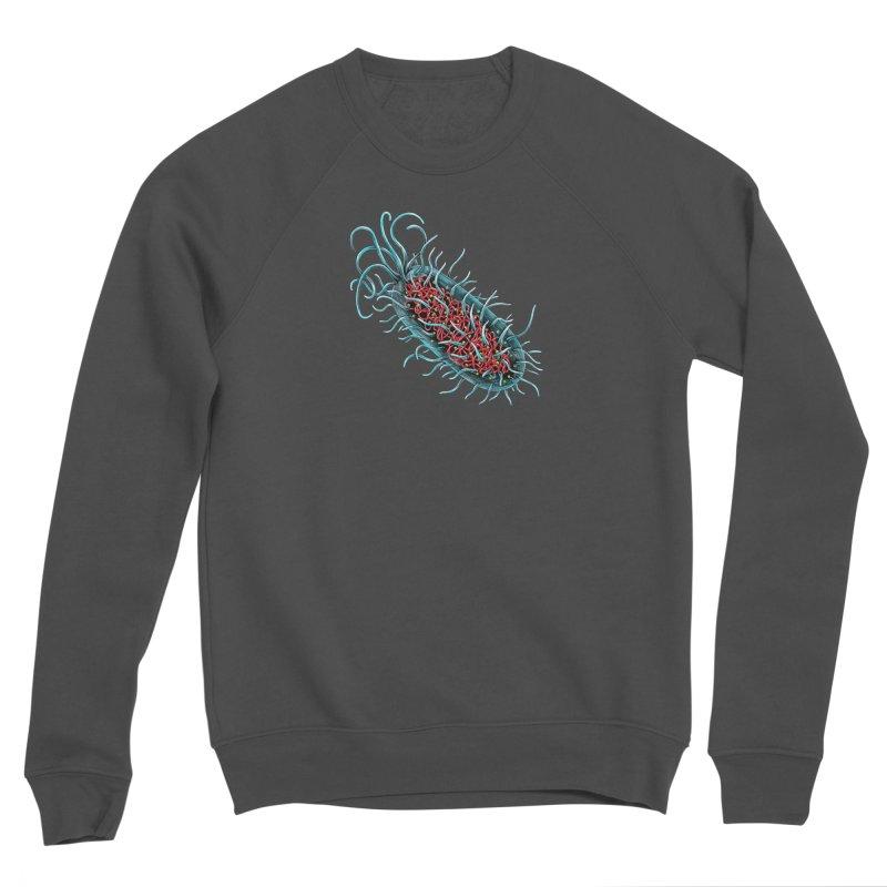 Bacteria Cell Men's Sponge Fleece Sweatshirt by Natalie McKean