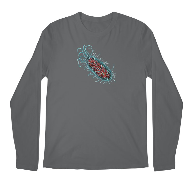 Bacteria Cell Men's Longsleeve T-Shirt by Natalie McKean