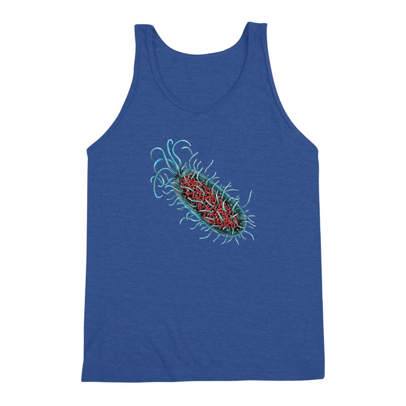 Bacteria Cell Men's Tank by Natalie McKean