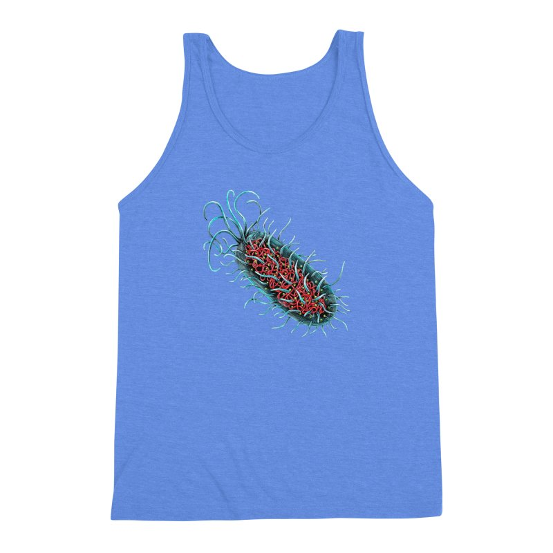 Bacteria Cell Men's Triblend Tank by Natalie McKean