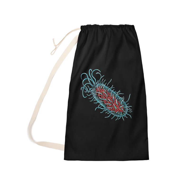 Bacteria Cell Accessories Bag by Natalie McKean
