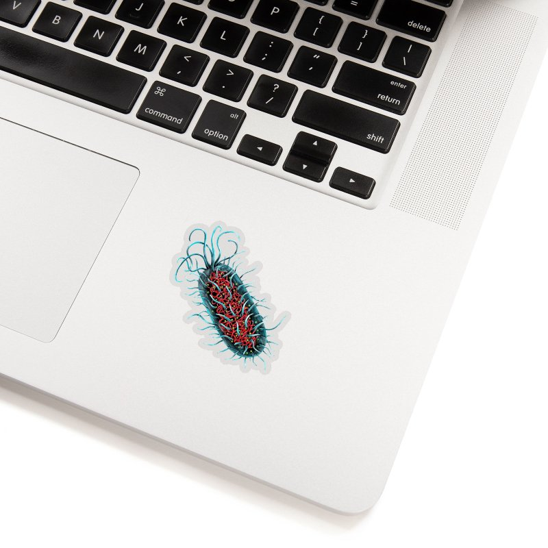 Bacteria Cell Accessories Sticker by Natalie McKean