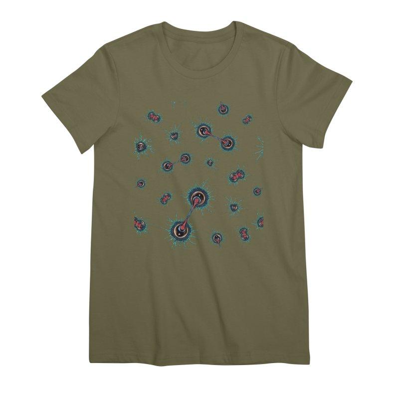 Mitosis Women's Premium T-Shirt by Natalie McKean