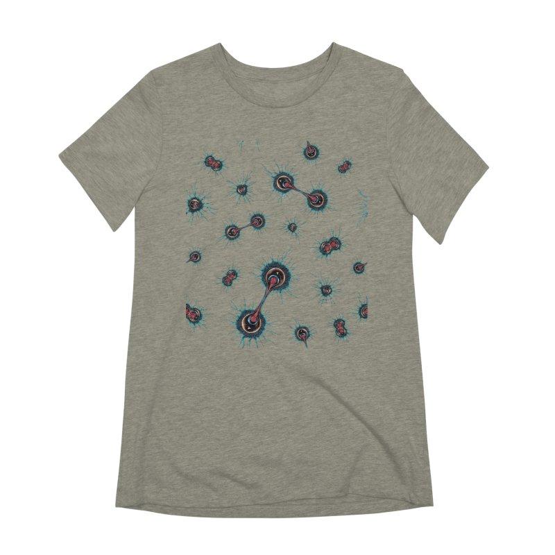 Mitosis Women's Extra Soft T-Shirt by Natalie McKean