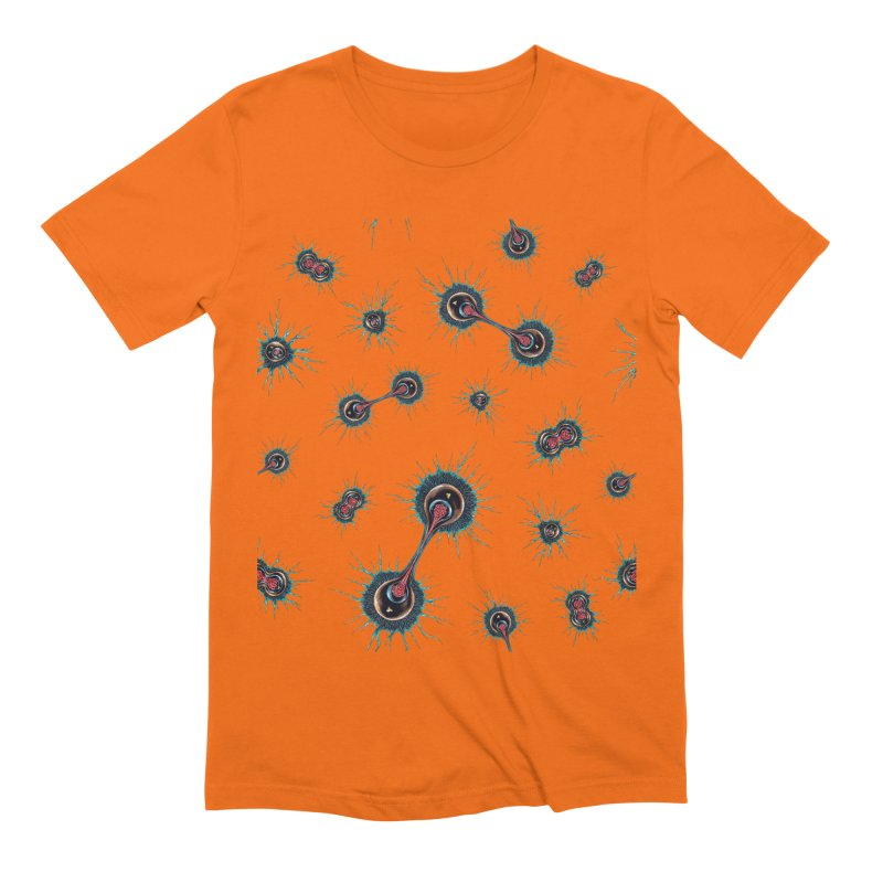 Mitosis Men's Extra Soft T-Shirt by Natalie McKean