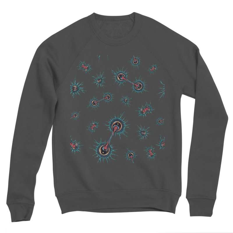 Mitosis Men's Sponge Fleece Sweatshirt by Natalie McKean
