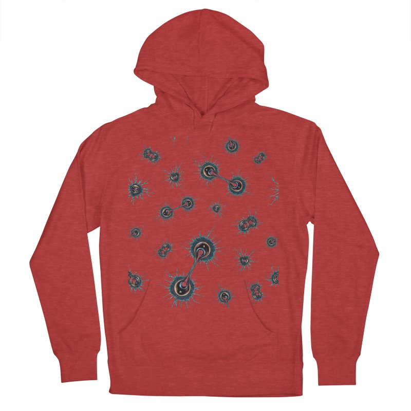 Mitosis Women's French Terry Pullover Hoody by Natalie McKean