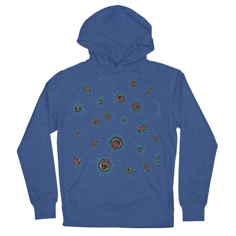 Mitosis Men's French Terry Pullover Hoody by Natalie McKean