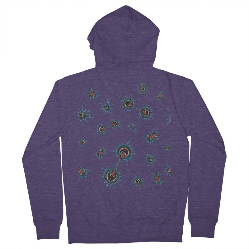 Mitosis Men's French Terry Zip-Up Hoody by Natalie McKean