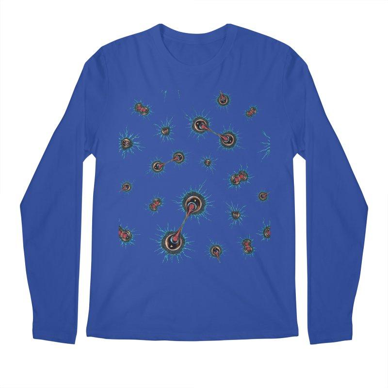 Mitosis Men's Regular Longsleeve T-Shirt by Natalie McKean