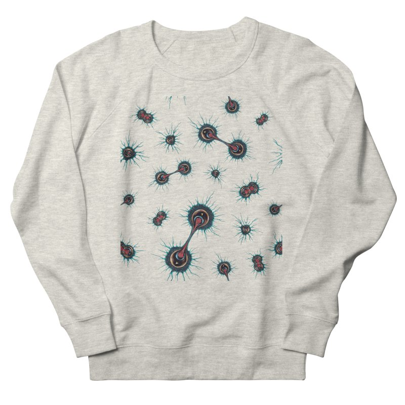 Mitosis Men's French Terry Sweatshirt by Natalie McKean