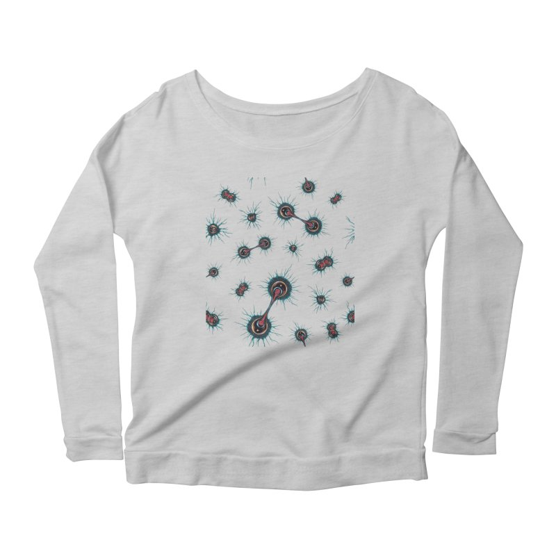 Mitosis Women's Scoop Neck Longsleeve T-Shirt by Natalie McKean