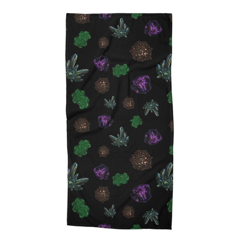 Crystal Pattern Accessories Beach Towel by Natalie McKean