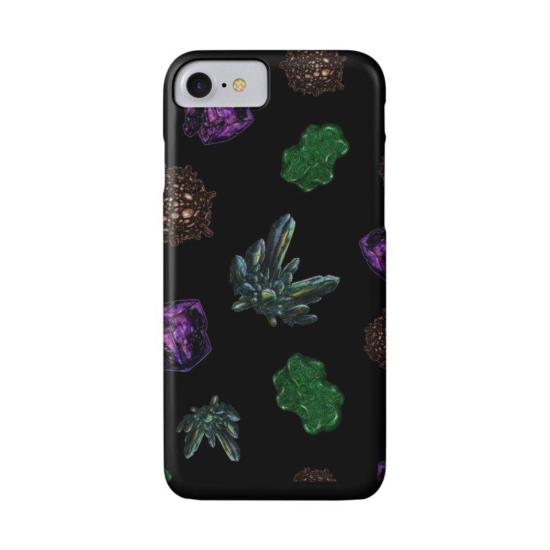 Crystal Pattern Accessories Phone Case by Natalie McKean