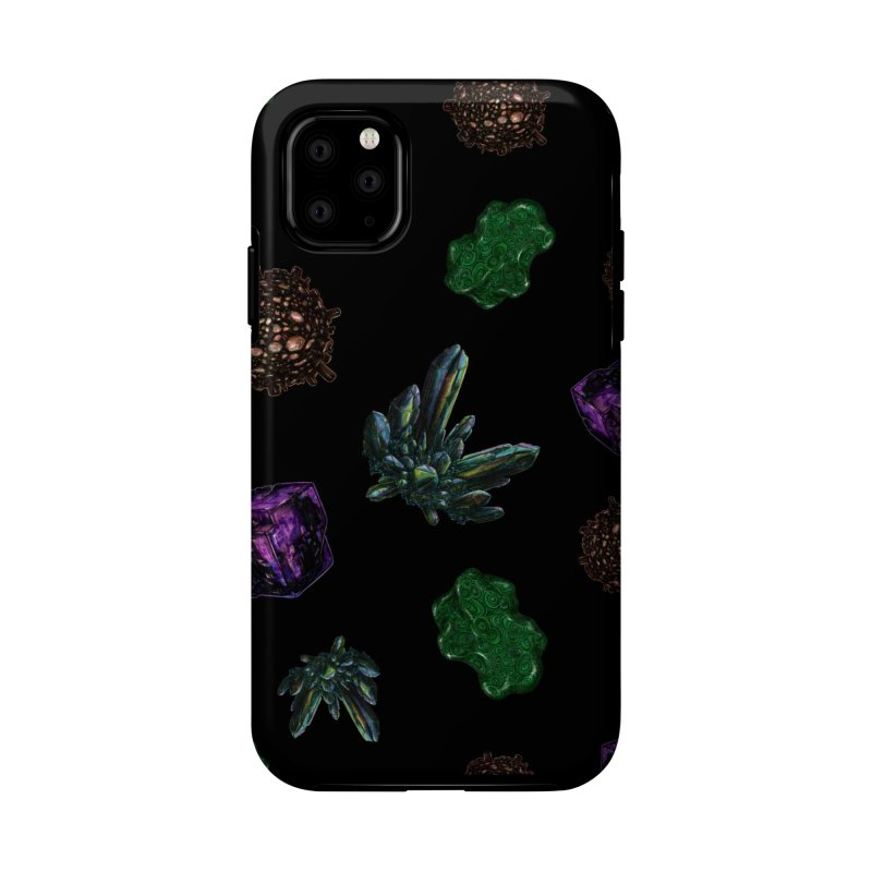 Crystal Pattern Accessories Phone Case by Natalie McKean