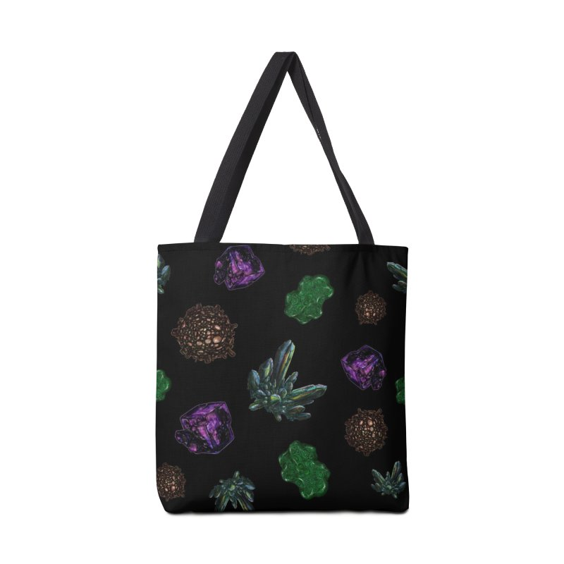 Crystal Pattern Accessories Tote Bag Bag by Natalie McKean