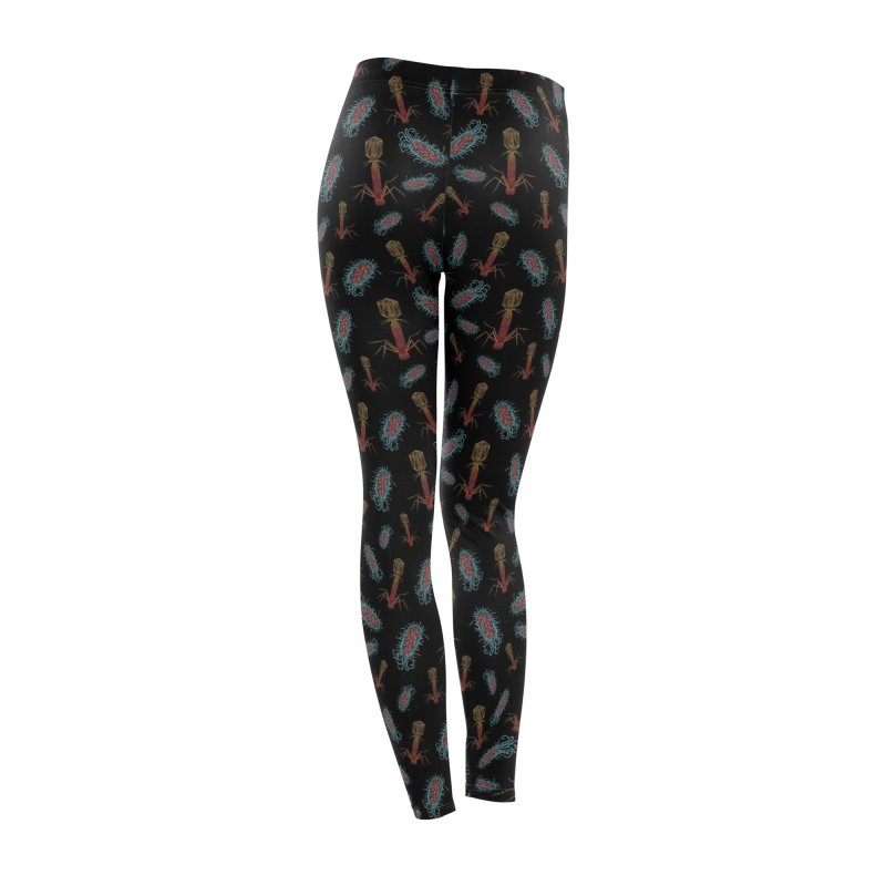 Virus vs Bacteria Pattern Women's Bottoms by Natalie McKean