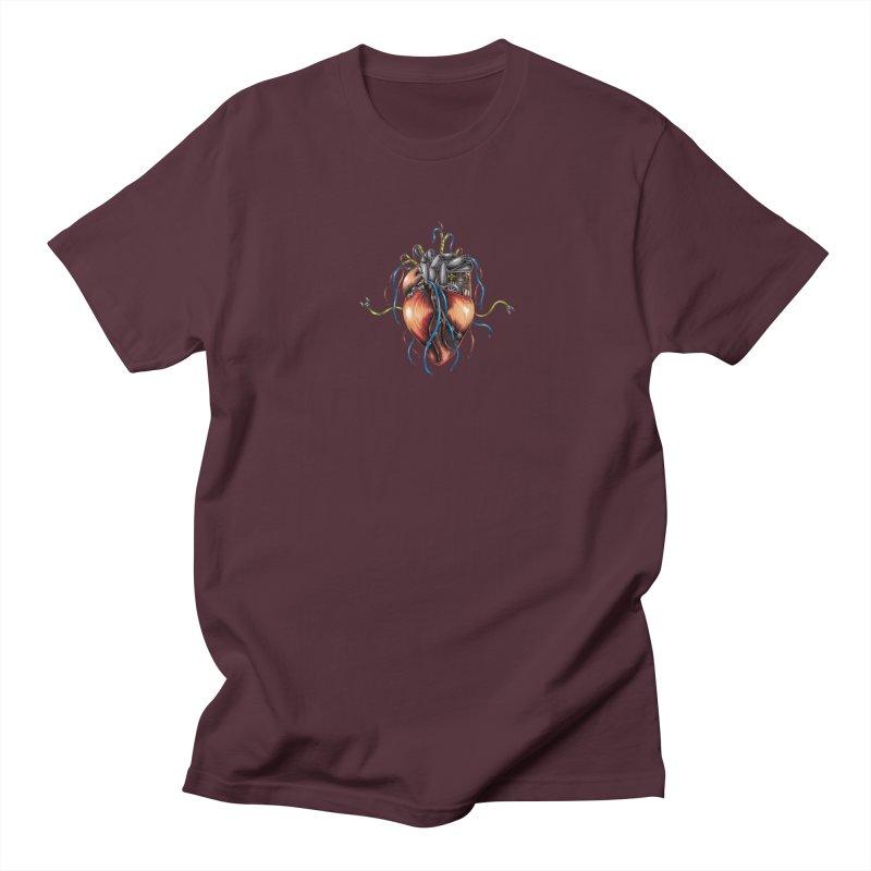Mechanical Heart Women's Regular Unisex T-Shirt by Natalie McKean