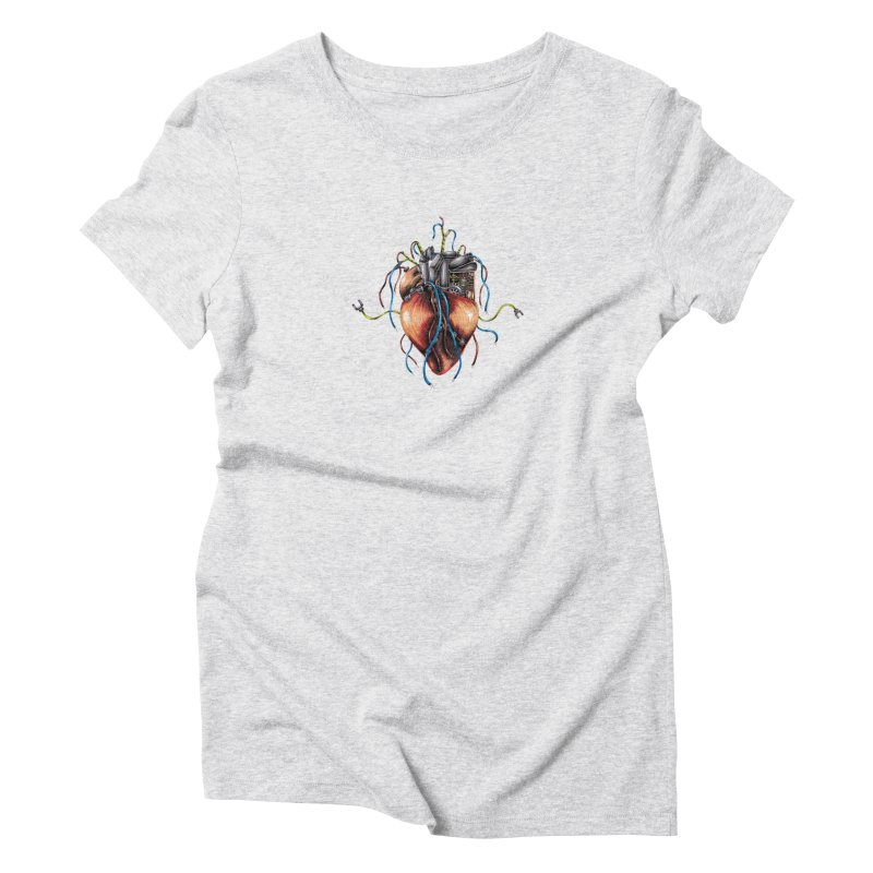 Mechanical Heart Women's T-Shirt by Natalie McKean