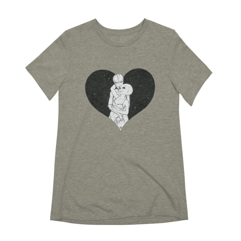 Love More ❤︎ Women's T-Shirt by Natalie McKean