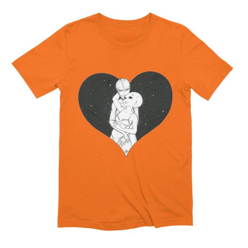 Love More ❤︎ Men's Extra Soft T-Shirt by Natalie McKean