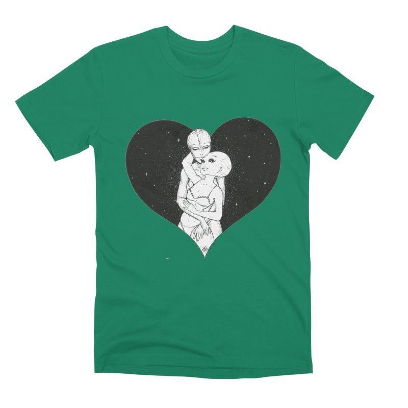 Love More ❤︎ Men's Premium T-Shirt by Natalie McKean