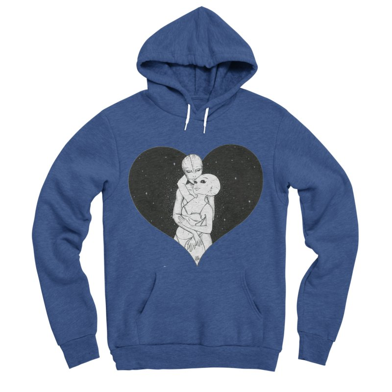 Love More ❤︎ Men's Sponge Fleece Pullover Hoody by Natalie McKean