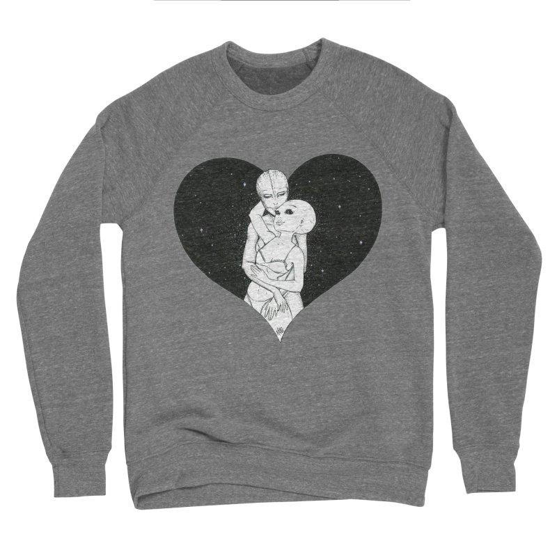 Love More ❤︎ Men's Sponge Fleece Sweatshirt by Natalie McKean