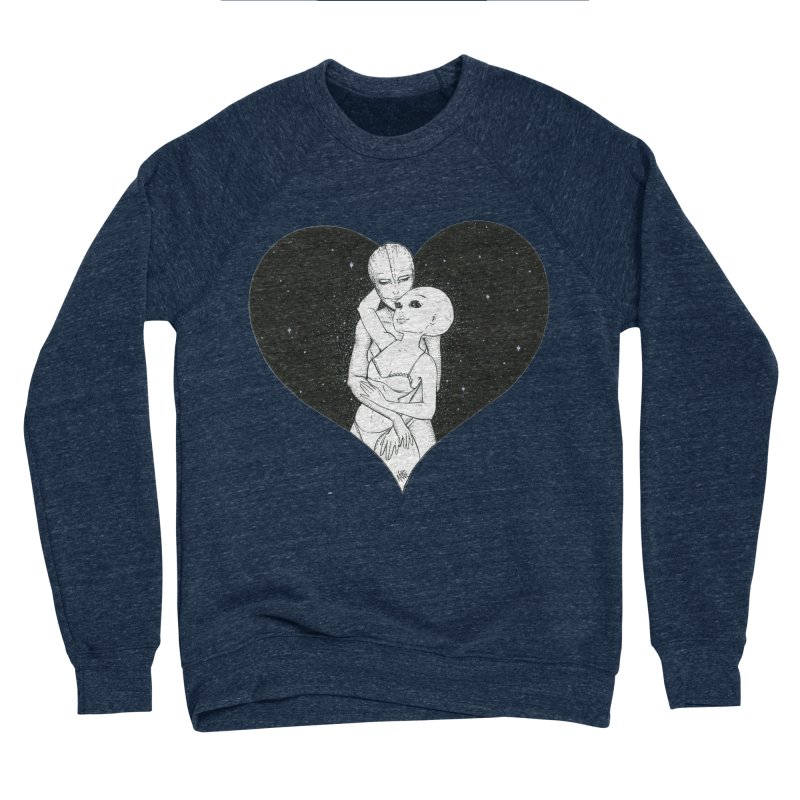 Love More ❤︎ Men's Sponge Fleece Sweatshirt by Natalie McKean