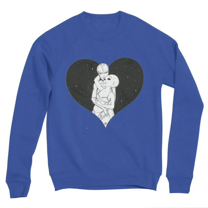 Love More ❤︎ Women's Sponge Fleece Sweatshirt by Natalie McKean