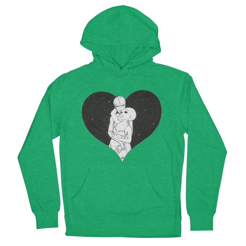Love More ❤︎ Women's French Terry Pullover Hoody by Natalie McKean