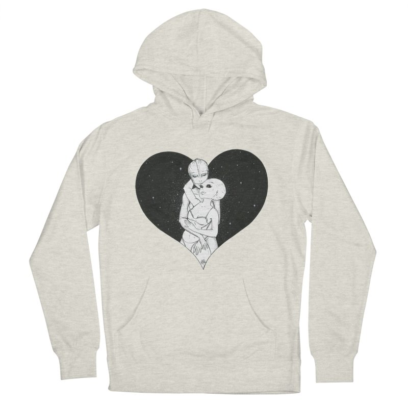 Love More ❤︎ Men's French Terry Pullover Hoody by Natalie McKean
