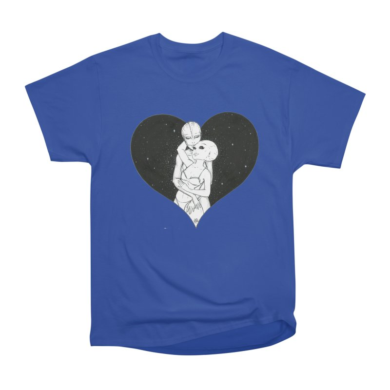 Love More ❤︎ Men's Heavyweight T-Shirt by Natalie McKean
