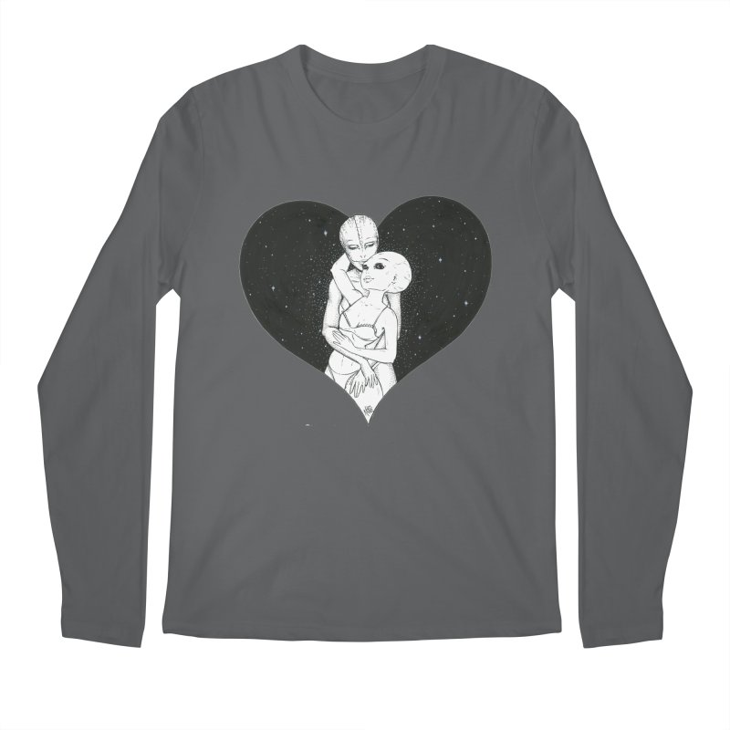 Love More ❤︎ Men's Regular Longsleeve T-Shirt by Natalie McKean