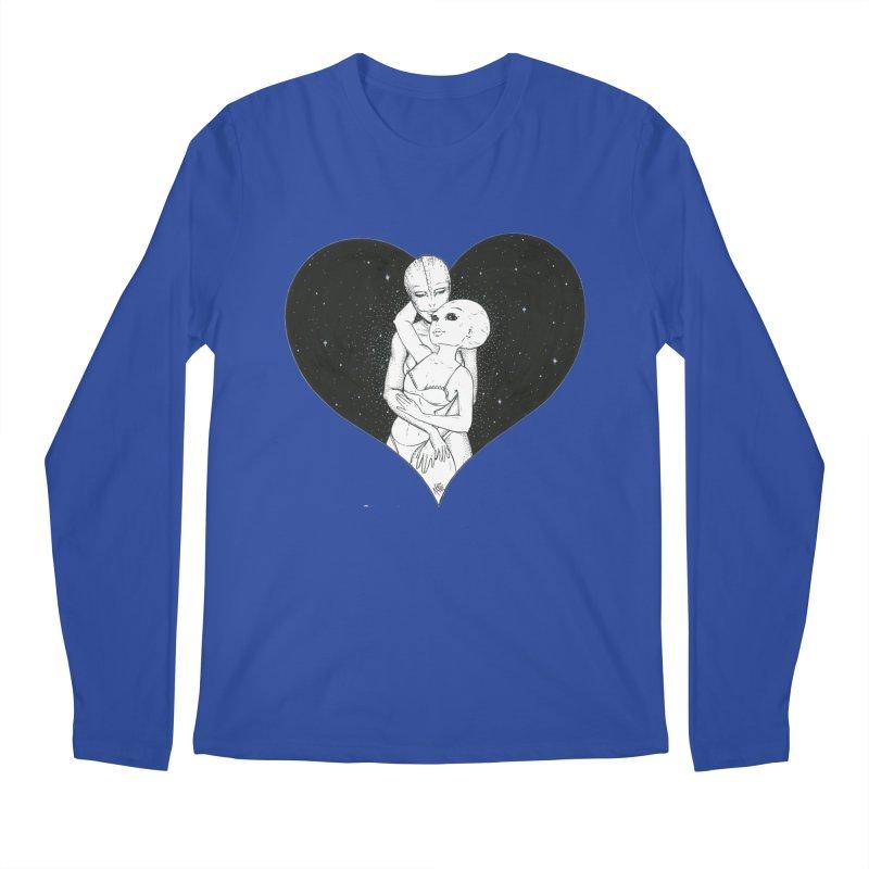 Love More ❤︎ Men's Regular Longsleeve T-Shirt by Natalie McKean