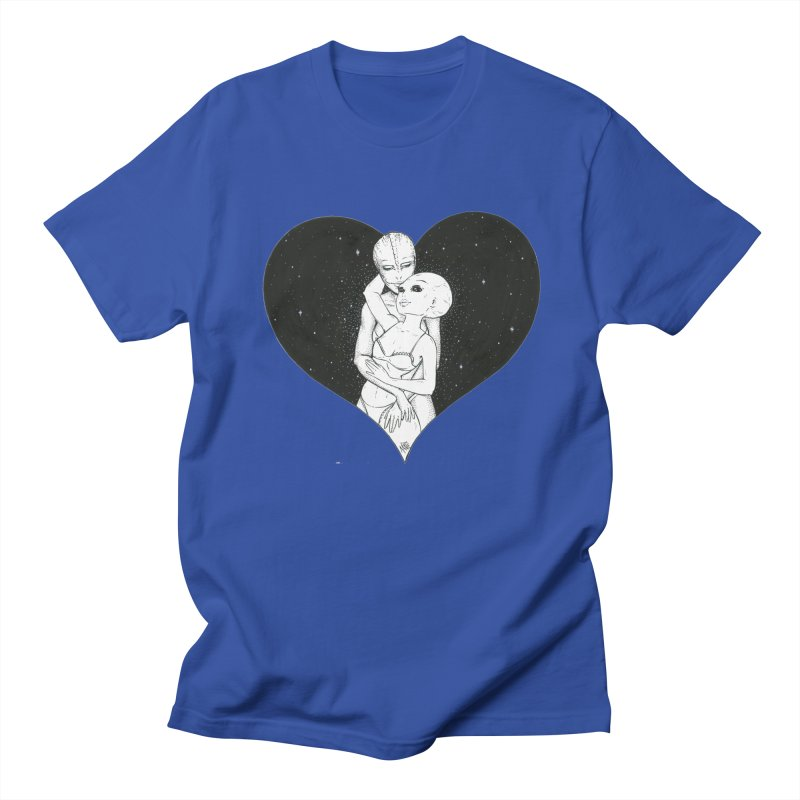 Love More ❤︎ Men's Regular T-Shirt by Natalie McKean