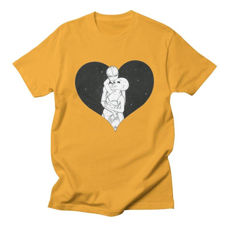 Love More ❤︎ Women's Regular Unisex T-Shirt by Natalie McKean
