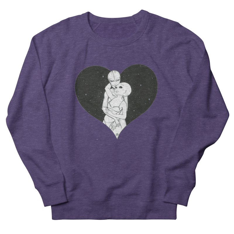 Love More ❤︎ Men's French Terry Sweatshirt by Natalie McKean